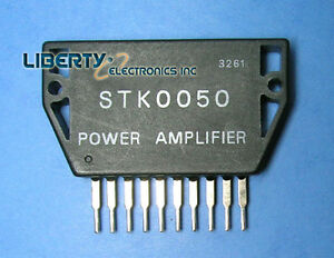 LOT of 2 (two) STK0050 ORIGINAL IC SANYO Power Amplifier + Heat Sink Compound