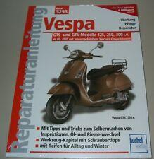 Reparaturanleitung Vespa GTS GTV 125 250 300 mit Einspritzmotor ab 2005 Buch NEU