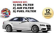 per AUDI A4 2.0 TDI 1/2008-> KIT DI MANUTENZIONE Filtro olio carburante Aria