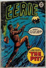 Eerie 12 (1963) G+ Dracula Story!