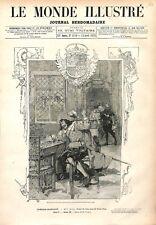 Paris Comédie-Française Ruy Blas Drame de Victor Hugo Auteur 1879 ILLUSTRATION