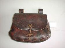 Leather Renaissance Medieval SCA LARP CELTIC belt Pouch Bag aged~brown.11
