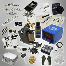 Complete Tattoo Kit Professional Inkstar 2 Machine JOURNEYMAN & CASE GUN Black