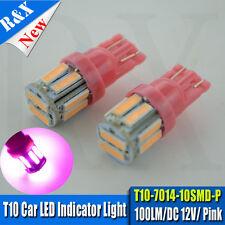 2x Purple UV LED T10 Parker Bulbs - Holden Commodore VL VN VP VR VS VT VX VY VZ