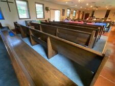 All Wood Well Cared for Church Pews various sizes & pricesl in great condition!