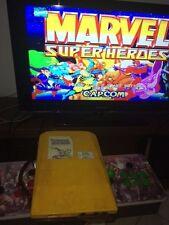 CAPCOM CPS2 JAMMA ARCADE - MARVEL SUPER HEROES -  COMPLETE SET A+B !