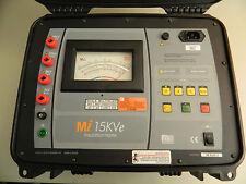 Megabras Mi 15KVe Insulation Tester Megger MIT1525