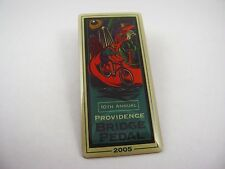 Collectible Lapel Hat Pin: 2005 10th Annual Providence BRIDGE PEDAL Cycling