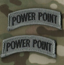 KANDAHAR WHACKER PRO-CLUB RANGERS PATHFINDER ACU hook/loop 2-TAB SSI Power Point