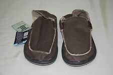NEW SANUK MEN'S CT- VAGABOND SHOES LT. BROWN SIZE: US 7 EUR 39.5