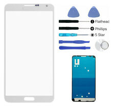 Replacement Fit Galaxy Note 4 N910 White front glass lens screen Adhesive Tool
