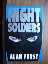 NIGHT SOLDIERS. 1st. ED 1988. ALAN FURST. BODLEY HEAD and FIRST IN TRILOGY