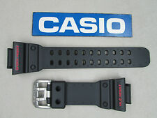 Genuine Casio King G-Shock GX-56 GXW-56 black resin rubber watch band strap