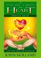 The Psychic Tarot For The Heart Oracle Deck by John Holland NEW & Sealed