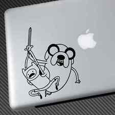 Hora De Aventura Pegatina DE VINILO COCHE DECAL Jake Finn Laptop Camisa Sombrero Afelpado Macbook