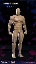"""VTOYS VSD003 1/12 Male Body Flexible Model Standard Figure & Shoes for 6"""" Action"""