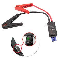 EMERGENCIA Smart Cable batería cocodrilo Pinzas clip para Coche Arrancador