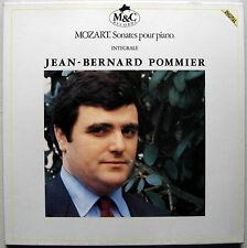 Coffret 6 LPs box Jean-Bernard POMMIER / Mozart Sonates pour piano intégrale