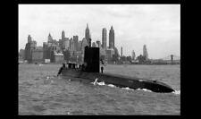 1954 USS Nautilus 1st Nuclear Submarine PHOTO New York Atomic Power SSN-571