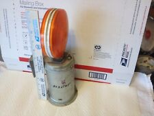 New listing Safety light, amber. Used. Item: 6490