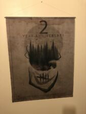 Dead by Daylight Limited Ed. Official 2 Yr Anniversary Large Wall Hanger/Banner