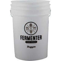 6.5 Gallon Fermenting Bucket w Lid Food Grade Homebrew Brewing Beer Wine Cider
