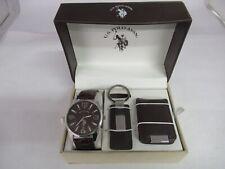 U.S. Polo Assn. Men's Watch with Money Clip & Keychain, 997-E