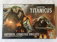 Adeptus Titanicus Imperial Cerastus Knights box of two - (Games Workshop)