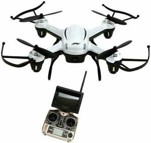 JJRC H32GH 5.8Ghz FPV 2.4Gh CF Aerial 6Axis 4CH Quadcopter RTF 2MP Camera Drone