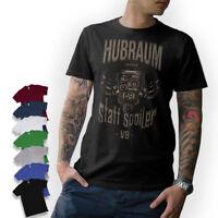 V8 - HUBRAUM STATT SPOILER T-Shirt Oldschool Tuning Hot Rod Musclecar Schrauber