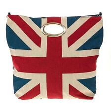 Traditional Tapestry Vintage Style Union Jack Tote Bag Gift For Her 69845