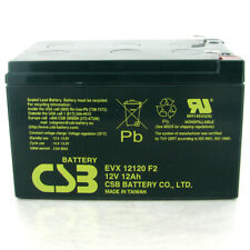 New CSB EVX12120 F2 12V 12Ah Deep Cycle AGM Battery Upgrade For CSB GP12120 F2