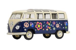 VW T1 1962 Hippi Bus 1:24 Bulli Modellauto