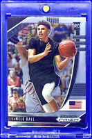 LAMELO BALL 2020-21 PANINI PRIZM SILVER CHROME #3 DRAFT PICKS ROOKIE RC HORNETS