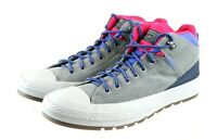 Converse Men's High Top Sneakers Shoes Size 12 Gray Blue