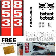 Bobcat 853 v1 Skid Steer Set Vinyl Decal Sticker bob cat MADE IN USA + FREE TOOL