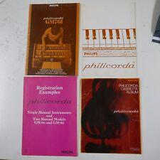PHILIPS PHILICORDA users manual , registration examples & music album