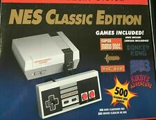 NES Classic Edition Gaming Console - Gray -500 games included FAST SHIPPING!!