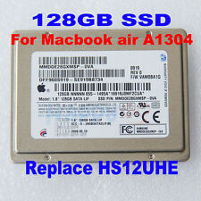 "1.8"" 128GB SAMSUNG MMDOE28GXMSP SSD Replace HS12UHE Macbook Air Late 2008 A1304"