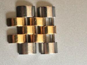 2 Rolex Gent Man Jubilee Bracelet Links Two Tone 18k Gold Stainless Steel 16233