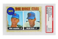 Nolan Ryan / Jerry Koosman 1968 Topps Baseball #177 RC Rookie Card -PSA 9 OC (F)
