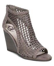 Fergalicious by Fergie Women's Hilite Zip Platform Wedge Sandals Peep Toe Shoes