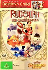 Rudolph The Red Nosed Reindeer DVD (original Version) Reg 4 See Below