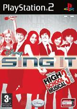 DISNEY SING  IT HIGH SCHOOL MUSICAL 3 PS2  NUOVO!