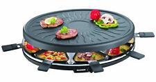 Severin Raclette Partygrill Grille Electrique Large 1000W Inclus 8 Mini-Sartenes
