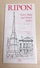Ripon Town Map and Street Index