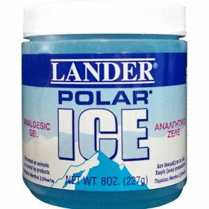 Stopain Lander Polar Ice Gel, Muscle Pain Gel 227gr