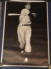 RARE JOE DIMAGGIO NY YANKEES VINTAGE SPORTS  Poster , 24'' x 36''