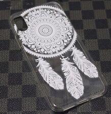For iPhone X - Ultra Thin Soft Rubber Silicone Dream Catcher TPU Skin Case Cover