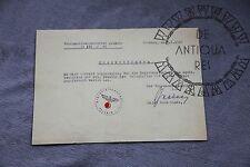 III Reich WW2 WK2  / XX / / IIWW MILITARIA TEDESCA  DOCUMENT DRESDEN WH HEER